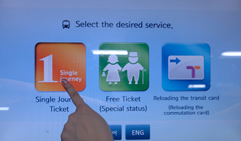 "Select ""Single Journey Ticket"